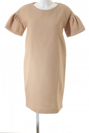 Liviana Conti Hooded Dress nude casual look