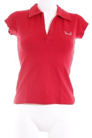 Livre Polo-Shirt ziegelrot Casual-Look