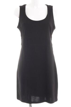 Livre Stretch jurk zwart casual uitstraling