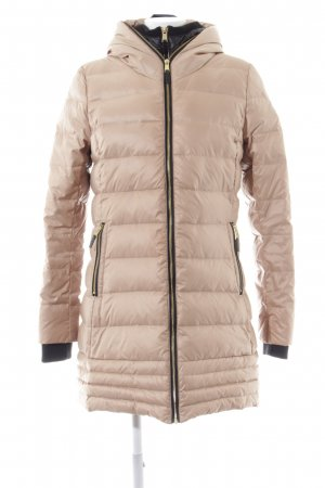 Livre Winterjacke creme Steppmuster Street-Fashion-Look