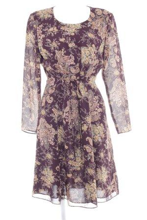 Liz Claiborne Langarmkleid Paisleymuster klassischer Stil