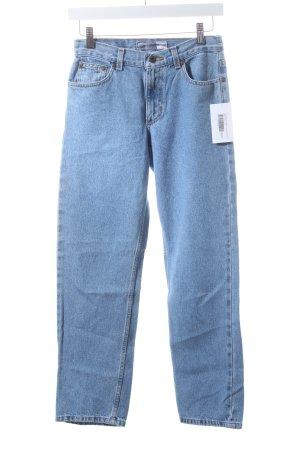 Liz Claiborne Straight-Leg Jeans hellblau Street-Fashion-Look