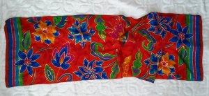 Sciarpa di seta multicolore Seta