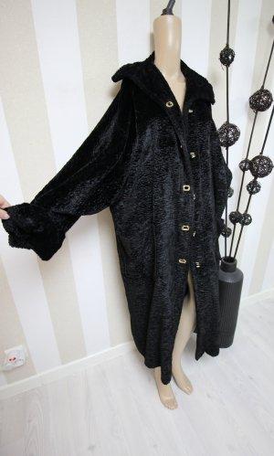 Cappotto nero-oro