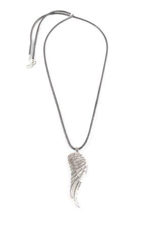 Lizas Ketting lichtgrijs-zilver casual uitstraling