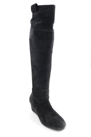 Lloyd Absatz Stiefel schwarz Casual-Look