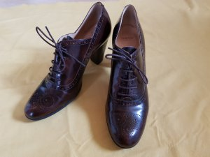 Lloyd Wingtip Shoes multicolored leather