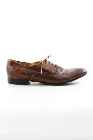 Lloyd Protège-orteil brun style d'affaires