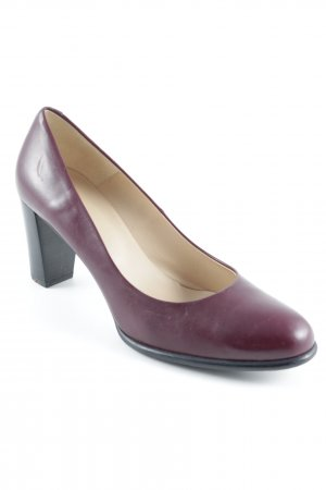 Lloyd High Heels bordeaux-black elegant