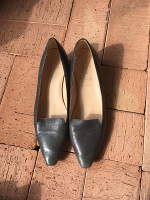 Lloyd Zapatos sin cordones petróleo-azul cadete Cuero