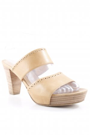 Lloyd Peeptoe Pumps sandbraun-hellbraun Casual-Look