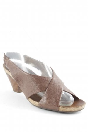 Lloyd Strapped High-Heeled Sandals light brown casual look
