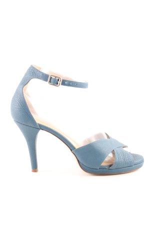 Lloyd Riemchenpumps blau Casual-Look