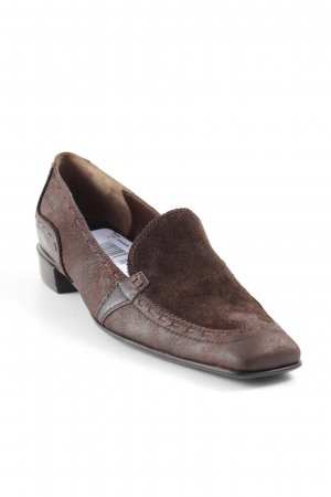 reputable site 8fd3b b572f Lloyd Scarpa slip-on marrone scuro look retrò