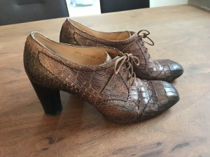 Lloyd Lace-up Pumps brown leather