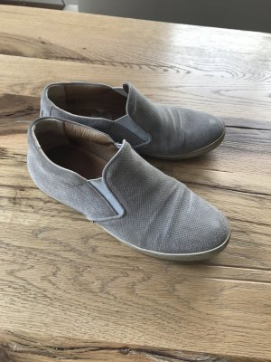 Lloyd Basket slip-on argenté-gris clair cuir
