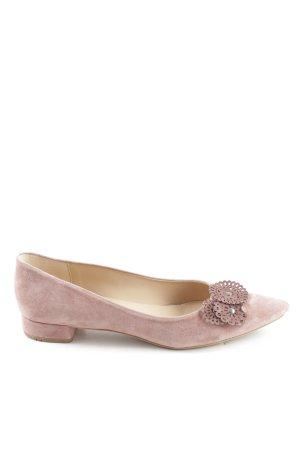 Lloyd Slingback ballerina's roze zakelijke stijl