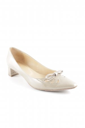 Lloyd Spitz-Pumps beige Romantik-Look
