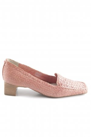 Lloyd Loafers roze simpele stijl
