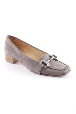 Lloyd Loafer marrone-grigio stile classico