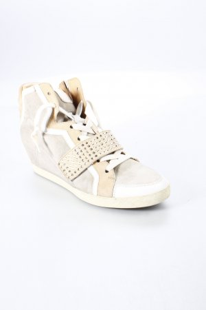 Lloyd Wedge Sneaker mehrfarbig Materialmix-Look