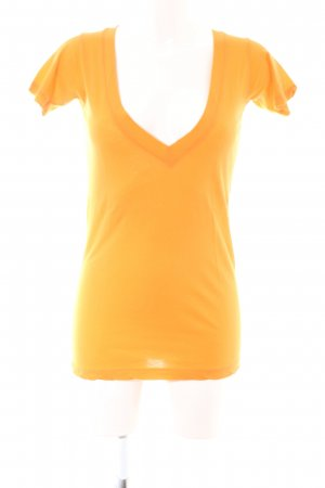 Lna T-Shirt hellorange Casual-Look