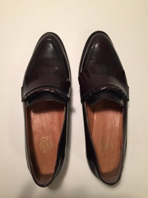 Loafer Apple of eden, 39, Leder, bordeaux