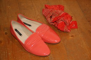 Loafer aus Lack