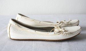 Loafer aus Leder mit Schleife