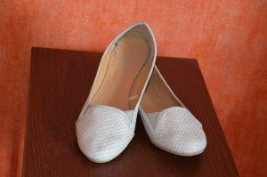 Loafer Ballerina Schlangenlederoptik
