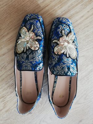 H&M Instappers goud-blauw