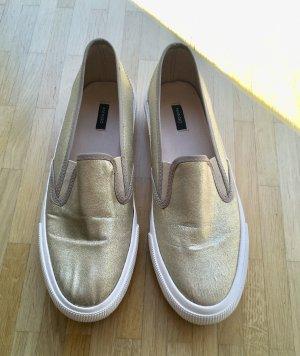 Loafer Gold Mango Gr. 39