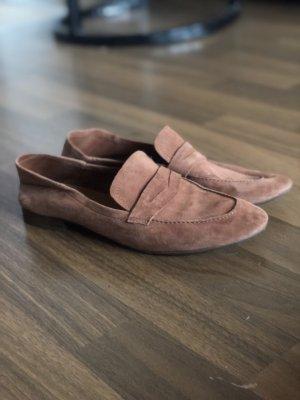 Loafer in Camel Leder