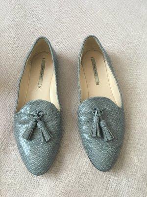 Loafer in grau von Zara Größe 36