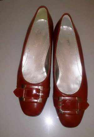 Loafer in Trendfarbe Lipstick red