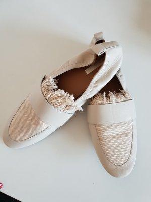 Loafer/ Leder Ballerina/ Halbschuhe/ Ballerina