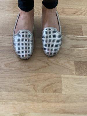 Loafer MeToo US Größe 6 silber