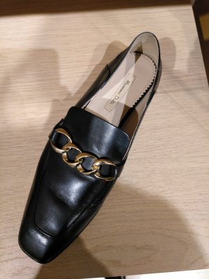 Loafer mit Golddetail