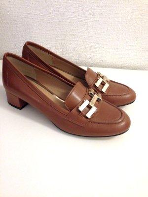 Loafer mit kleinem Blockabsatz von Madeleine, echtes Leder, Gr. 39