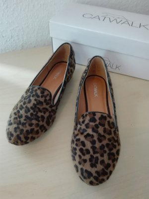 Loafer mit Leo Muster - Top Zustand Gr. 39