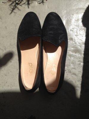 Loafer / Slipper aus Leder