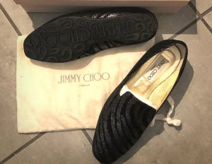 Jimmy Choo Mocassino nero-oro