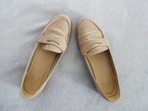 Loafer Slipper Ballerinas Nude Beige Lack