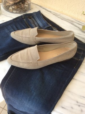 Loafer / Slipper in beige Gr.41 in OVP neu