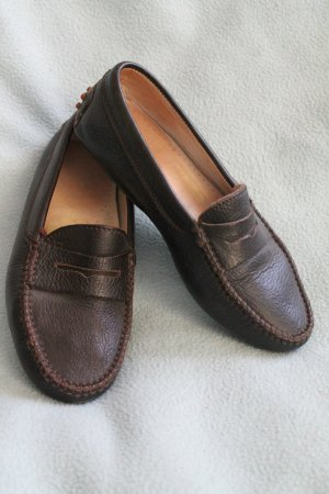 Moccasins dark brown