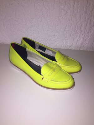 Tommy Hilfiger Moccasins yellow-neon yellow