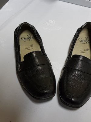 Caprice Moccasins blue leather