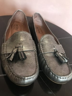 Josef seibel Moccasins silver-colored