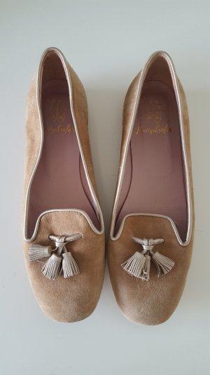 Loafer von PRETTY LOAFER Wildleder mit Tosseln