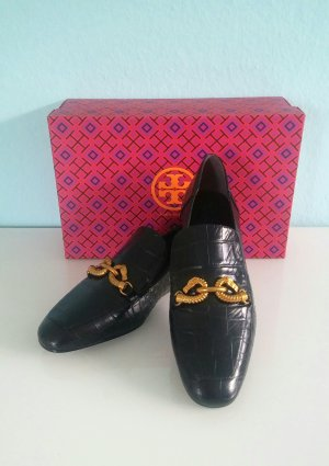 Tory Burch Slippers black-gold-colored